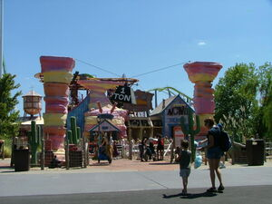Road Runner Express Entrance