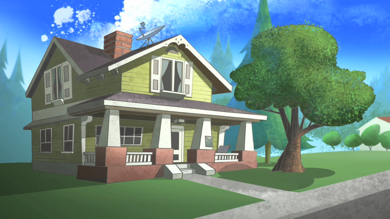 Cartoon Characters Houses : Porky s house the looney tunes show wiki fandom