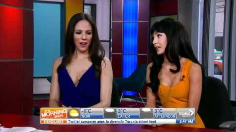 "Season 2 Anna Silk and Ksenia Solo Interview ""The Morning Show"""