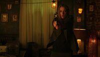 Lauren tranquilizes The Hunter (504)