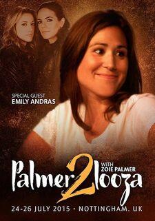 Emily Andras at PalmerPalooza 2 (2015)