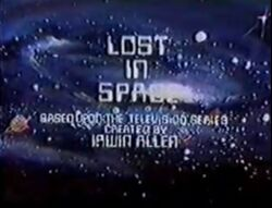 Lost in space animated title