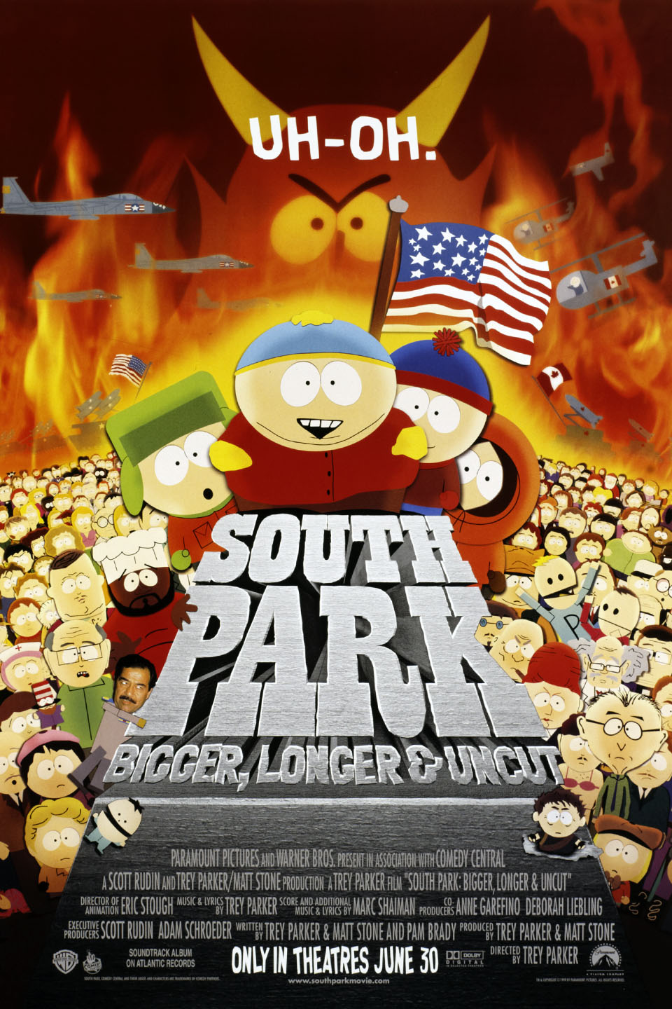 South Park Bigger Longer And Uncut- (Movie Review) - YouTube