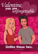 Lost Valentine Card 10