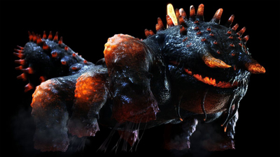 Salamander Lost Planet Boss in Lost Planet 2