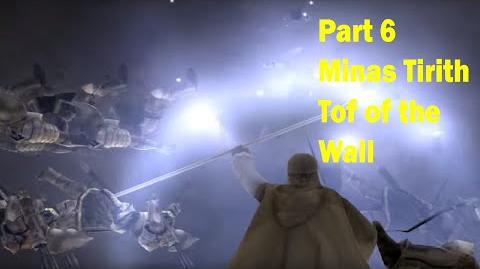 Minas Tirith - Top of the Wall