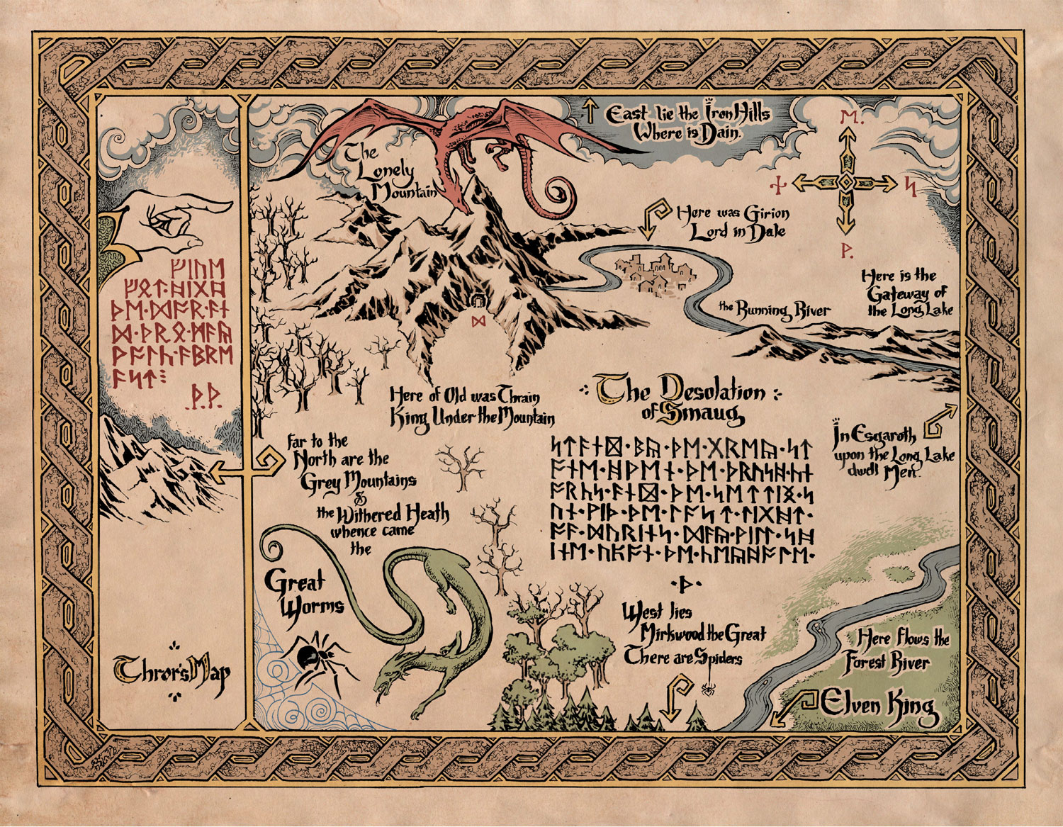 ForumMapping Middle Earth on Earth – Lord of the Rings Map Middle Earth