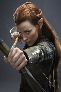 Tauriel Taking Aim