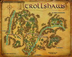 Map - Trollshaws