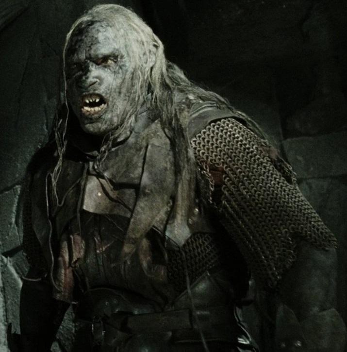 """Shagrat w filmie """"Władca Pierścieni: Powrót króla"""""""