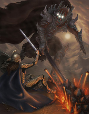 File:Fingolfin and Morgoth.jpg