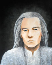 Olorin or gandalf maia by annie claudine
