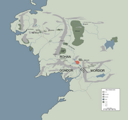 NINDALF---thumb-location of in --Middle-earth-- marked in red--