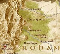 Fangorn Forest Map
