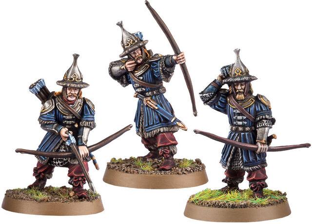 File:Hobbit Miniature Game - Lake-town Guard (Bowmen) 1.jpg