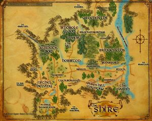 Map - Shire