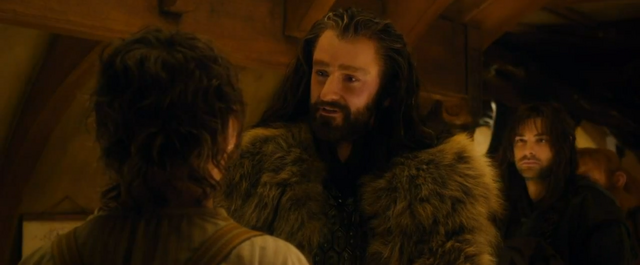 File:Thorin meets Bilbo - The Hobbit.PNG