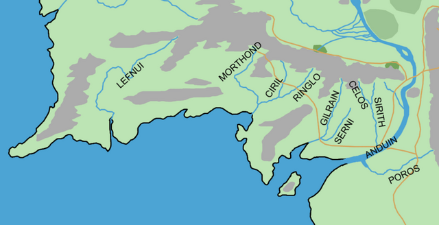 File:GONDOR RIVERS location map in middle earth.PNG