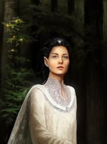 Aredhel Ar Feiniel by moon blossom