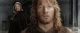 Denethor's vision of Boromir
