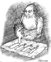 180px-Daniel Falconer - Stonefoot dwarf