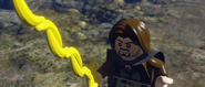 Lego lotr aragorn with banana sword