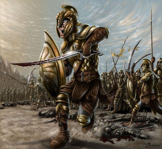 File:Vanyar elves in war of wrath by sboterod-d3daptm.jpg
