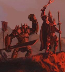 Rogash and the Witch-King of Angmar