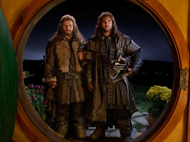 File:Fili and Kili at Bag End.jpg