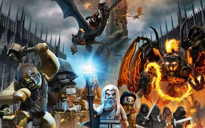 Lego lotr evil characters final