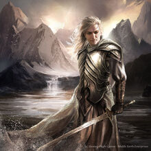 Glorfindel by Magali Villanueve
