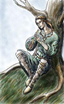 The Flutist of Doriath by Losse elda
