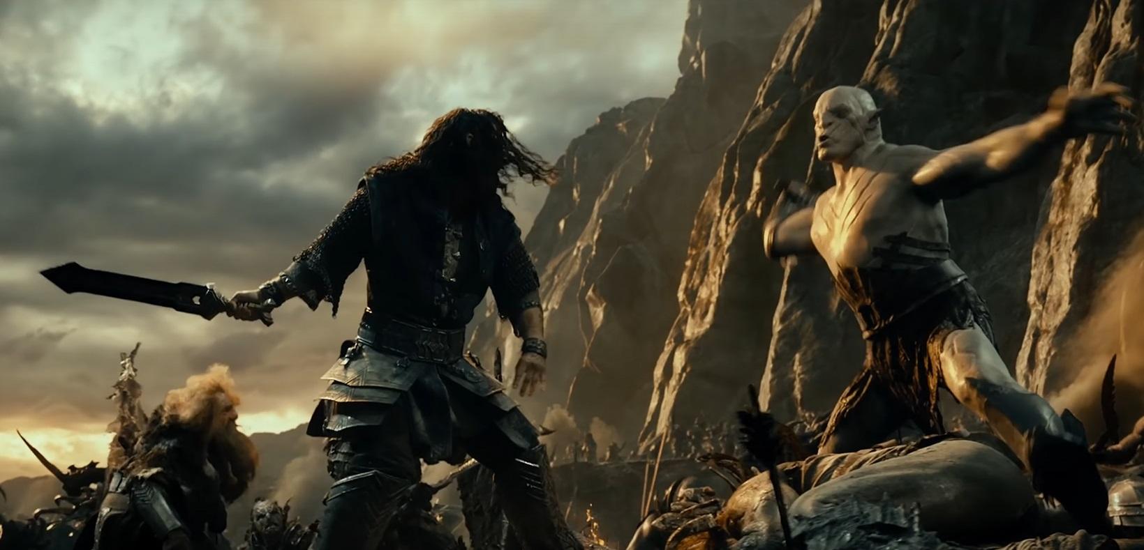 File:The Hobbit Thorin vs Azog.jpg