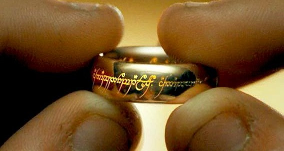 Image result for lord of the rings ring