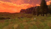 Rohan sunset