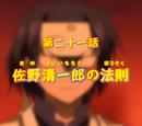 The Law of Seiichiro Sano
