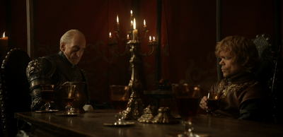 Tywin and Tyrion