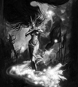 DarkElfSorceress