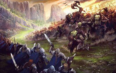 Orc-battle
