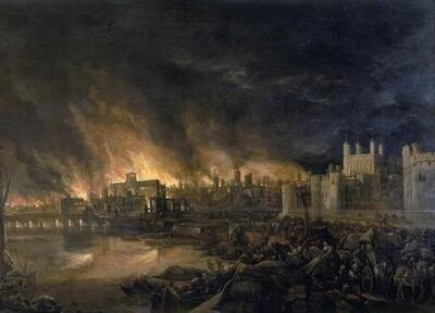 Great Fire of London London Burning 2