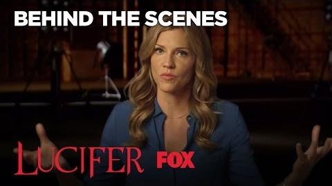 The Truth Behind Lucifer's Mother With Tricia Helfer Season 2 Ep