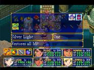 Silver Light Menu