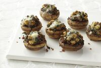 Bacon-blue-cheese-stuffed-mushrooms