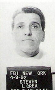 FBI mugshot of New York mobster Steven Crea