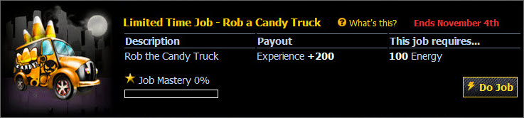 Halloween-2009 Rob-a-Candy-Truck