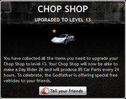 Chop Shop Level 13