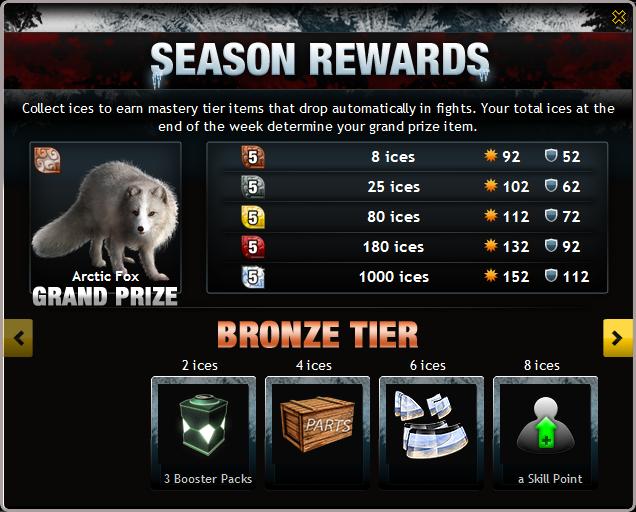 Preview: season 2 league rewards