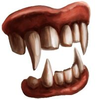 Vampire teeth hd