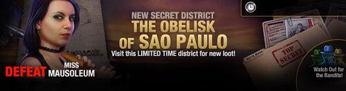 SecretDistrict-15-ObeliskofSaoPaolo v2 lootBandit