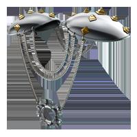 Huge item metalshoulderpad 01